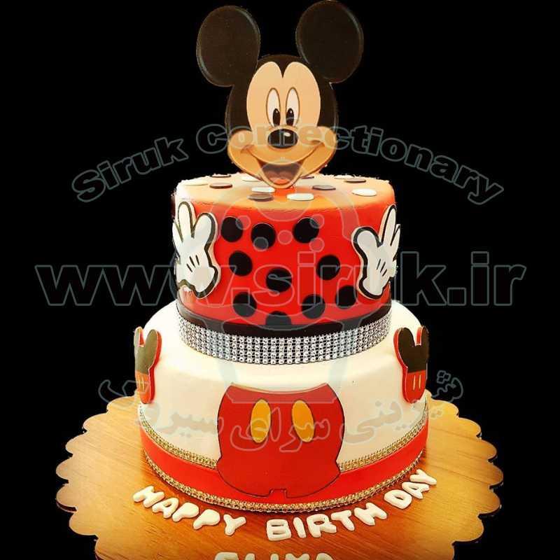 کیک میکی موس